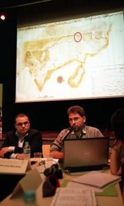 Professores Daniel Pêcego e João Carlos Nara